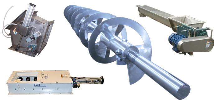 Industrial Material Storage and Mixing Equipment